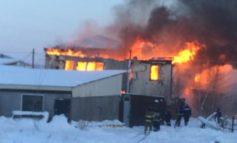 Оставшейся без крова при пожаре в Якутске семье требуется помощь