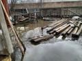 Уровень реки Колымы в районе Среднеколымска превышает критический