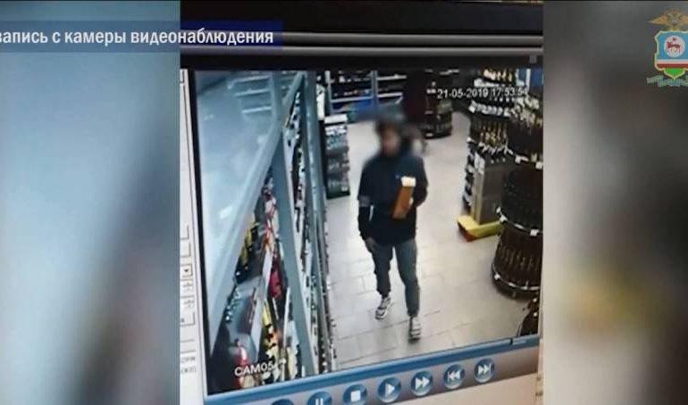 В Нерюнгринском районе задержан подозреваемый в краже дорогого алкоголя