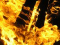 Пожар произошел в парке отдыха в селе Амгинского района