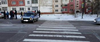 В Нерюнгри на пешеходном переходе сбили шестилетнего мальчика. Он попал в реанимацию