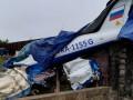 Легкомоторный самолет совершил жесткую посадку в Ленинградской области