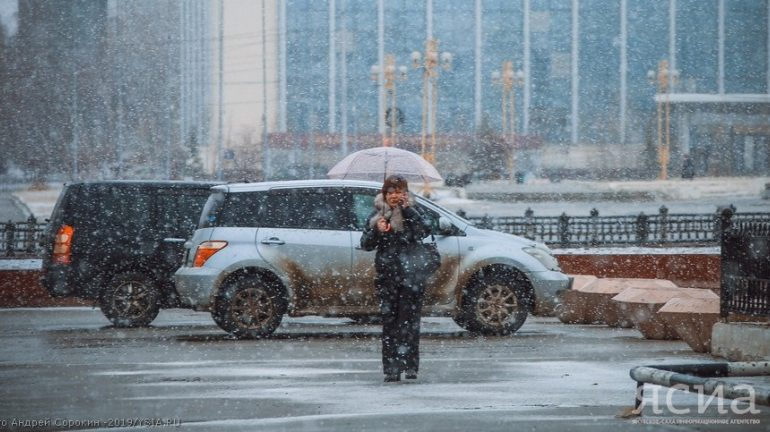 В Якутию придут снег и метели