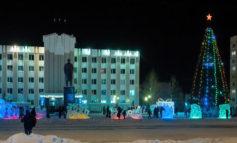 Елочка, гори: В Нерюнгри зажглась главная новогодняя елка