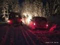 Спасатели эвакуировали двух замерзающих человек из леса в Нюрбинском районе Якутии