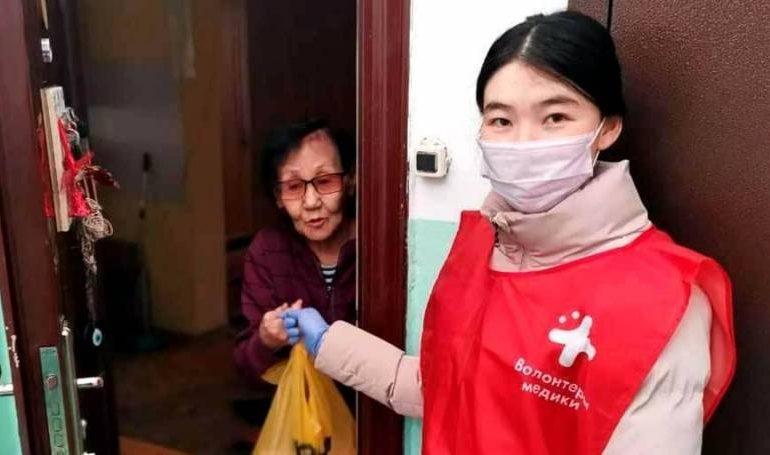 В Якутии более 2 тысяч добровольцев помогают пенсионерам и инвалидам в условиях пандемии