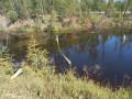 Водитель погиб при опрокидывании машины в водоем в Якутии