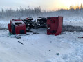 Водитель пострадал в результате опрокидывания самосвала в Якутии