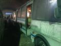 Два автобуса работают по графику после пожара в гараже в якутском Олекминске