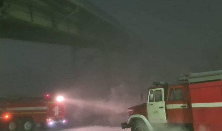 На Нерюнгринской ГРЭС произошел пожар