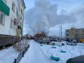 Пожар произошел в жилом доме в одном из кварталов Якутска