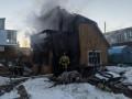 Тела двух погибших обнаружили после пожара в частном доме в Мирном