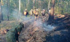 Количество пожаров в Якутии за сутки увеличилось на три и составило 25 очагов